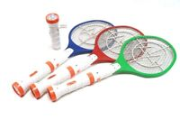 DLUX Electric Bug Zapper Racket, Fly Swatter, Rechargeable w/Dual LED Flashlight