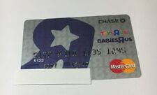 1 Expired Credit Cards For Collectors - Toys R Us Card 5 (7090)