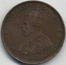 More details for 1919 australia one penny | no dot | pennies2pounds
