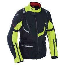 Oxford Montreal 3.0 Motorcycle Motorbike Touring Waterproof Jacket - Black/Fluo
