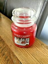 Yankee Candle Wax JAR Medium CHRISTMAS MAGIC Festive Holiday Candle