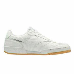Mizuno D1GA191701 City Wind Tennis / Court Shoes In White / Silver