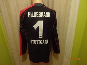 "VfB Stuttgart Puma Torwart Trikot 2005/06 ""EnBW"" + Nr.1 Hildebrand Gr.S TOP"