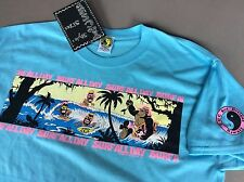 80's T&C Surf Designs T-shirt Men's  Large  Sky blue