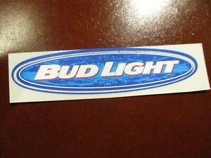 BUDWEISER Bud Light oval font logo STICKER decal craft beer brewing brewery