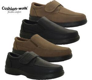 Mens Cushion Walk Ultra Lightweight Casual Slip On Walking Driving Comfort Shoes
