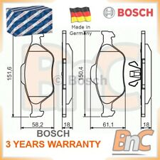 # GENUINE BOSCH HEAVY DUTY FRONT DISC BRAKE PAD SET FORD