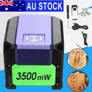 Meco 3500mW USB Laser Engraver Printer Cutter Carver Logo Maker DIY Machine AUS