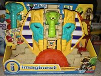 NEW SEALED IMAGINEXT FISHER-PRICE SERPENT STRIKE PYRAMID LIGHTS AND SOUNDS MISB