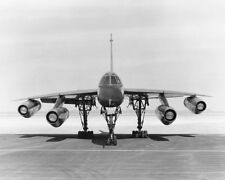 Convair B-58 Hustler Bomber Vorderansicht 11x14 Silber Halogen Fotodruck
