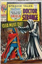 STRANGE TALES #154 VF 8.0 MARVEL 3/1967 DR. STRANGE & NICK FURY