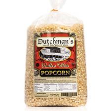 White Hulless Popcorn Medium Virtually Hulless Popcorn Kernels for Popping