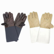 Unisex Leather Work Gloves Hand Protection Gardening Gloves Thorn Proof Gauntlet