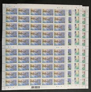 Hong Kong Stamp 1997 Modern Landmarks ,4 Full Sheet, Set of 4 ,50 set, MNH
