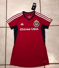 Rare NWT ADIDAS CLIMACOOL Chivas USA MLS Women's Small Jersey