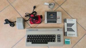 Commodore C64 von 1984, getestet, mit Datasette, Spielmodul, Joystick