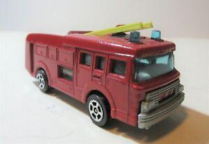 Corgi Juniors ERF Fire Engine Water Tender Truck - Corgi Toys Fire Engine Models