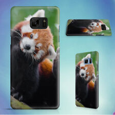 RED PANDA ANIMAL ON BROWN TRUNK HARD CASE FOR SAMSUNG GALAXY S PHONES