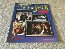 More details for star wars return of the jedi - 100% complete panini  sticker album 1983