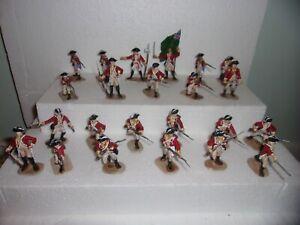 toy soldiers revolutionary war british lot