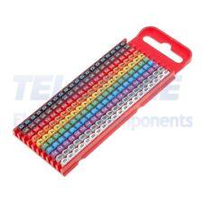 200pcs  Segna cavi per cavi e fili 2÷2,8mm plastica -40÷85°C