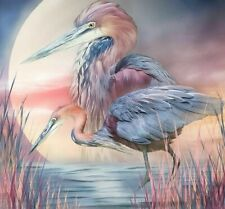 Heron Bird Diamond Painting Full Square Drills Embroidery Design Mosaic Patterns