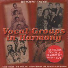 Various Blues(4CD Album Box Set)Vocal Groups In Harmony-Secret/Boulevar-New