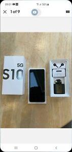 Samsung Galaxy S10 5G - 256 GB - Majestic Black (Vodafone locked) NO SIM