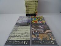 The Chronicle Vol I 2 3 4 bundle Audio Book 8 Cassettes Full Year Jan - Dec