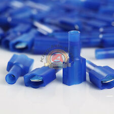 Metra Electronics Corp Install Bay BVMD250 Vinyl Male Connector 16//14 Gauge .250 100-Pack Blue