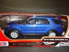 Motormax Ford Explorer XLT 2015 Blue 1/18