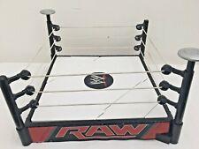 WWE Raw Mattel 2013 Spring Loaded Wrestling Ring