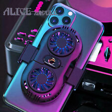 Cooling Fan Mobile Phone Radiator Game Cooler For iPhone Samsung B2AM