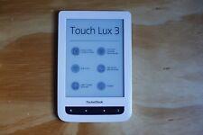 Pocketbook reader touch lux 3 blanco (ebook-Reader similar a Kindle) - nuevo