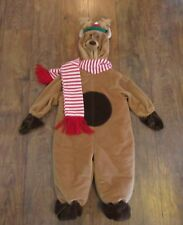 Baby 18 Mo Reindeer Bunting Snow Suit Hooded Costume Photo Wear Miniwear Classic