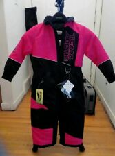 Arctic Cat Youth Team Arctic One-Piece Suit - Pink Youth 2