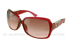 ARMANI DESIGNER SUNGLASSES 9550 BC1 PB DK Ruby Red NEW With Case
