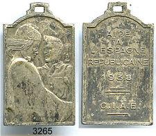 3265 - MEDAILLE GUERRE D'ESPAGNE 1938
