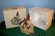 Retired Dept. 56 New England Village Sleepy Hollow Lighted Church