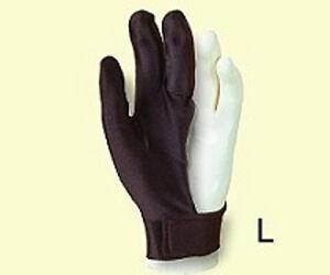 Billardhandschuh LAPERTI , Größe S - XL  mit Klettverschluß, für die linke Hand