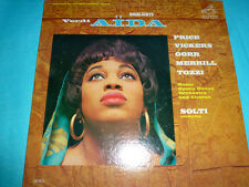 Verdi Aida Highlights Price, Vickers 1962 RCA NM