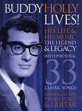 Buddy Holly His Life Learn PLAY Pop Rock Piano Guitar PVG Music Book