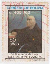 (BO98) 1986 Bolivia 400000p multicolour ZAMPA ow1127