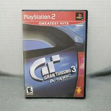 Gran Turismo 3 A-spec PS2 Video Games