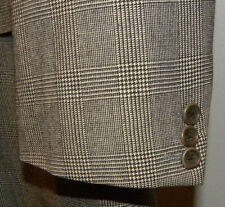 Hugo Boss Corleone Catania Grey Glen Plaid Wool Sport Coat Blazer 42L