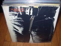 ROLLING STONES / WARHOL sticky fingers ( rock ) zipper - record club - VERY RARE