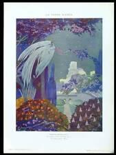 UMBERTO BRUNELLESCHI, LA TOUR BLANCHE -1915-PHOTOLITHOGRAPHIE