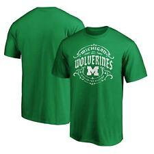 Michigan Wolverines Fanatics Branded St. Patrick's Day Tullamore T-Shirt - Green