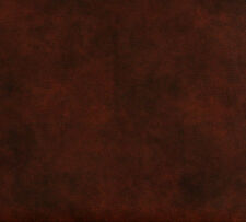 Mahogany Brown Animal Hide Look Leather Grain Soft Vinyl Upholstery Fabric
