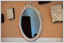 Wandspiegel im Barockstil 51x37 cm - Ein Liebhaberstück - Oval Spiegel Barock